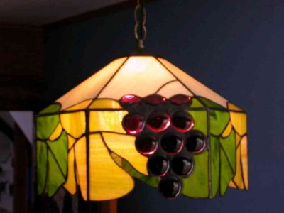 grapes lamp