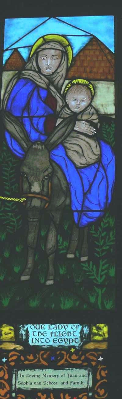 St Mary - Flight into Egypt